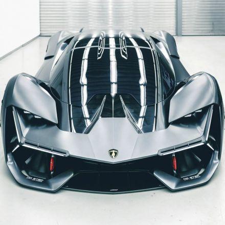 Lamborghini Unveils a Self-Healing, Electric Supercar