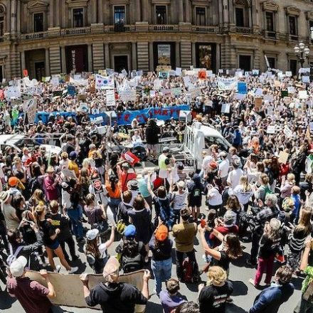 'If not us, who?' Failure of representation drives youth climate strike