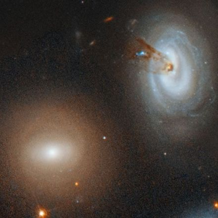 Spectacular Hubble Image Shows a Galaxy That Lost Its Spiral Arms