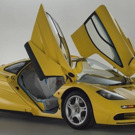 Unused 1997 McLaren F1 goes up for sale, could shatter price record