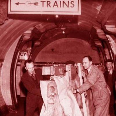 The art hidden from Nazi bombs