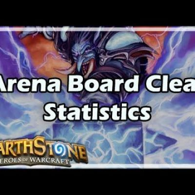 [Hearthstone] Arena Board Clears Statistics