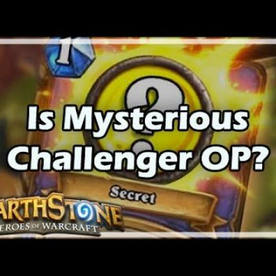 [Hearthstone] Is Mysterious Challenger Overpowered?