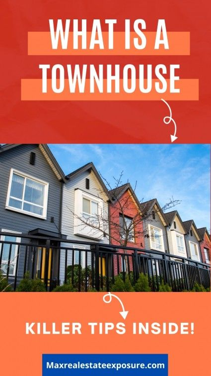 Learn the definition of a townhouse along with a whole host of other tips when purchasing one.