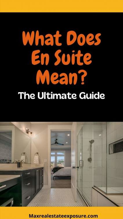 Do you know the meaning of En Suite?