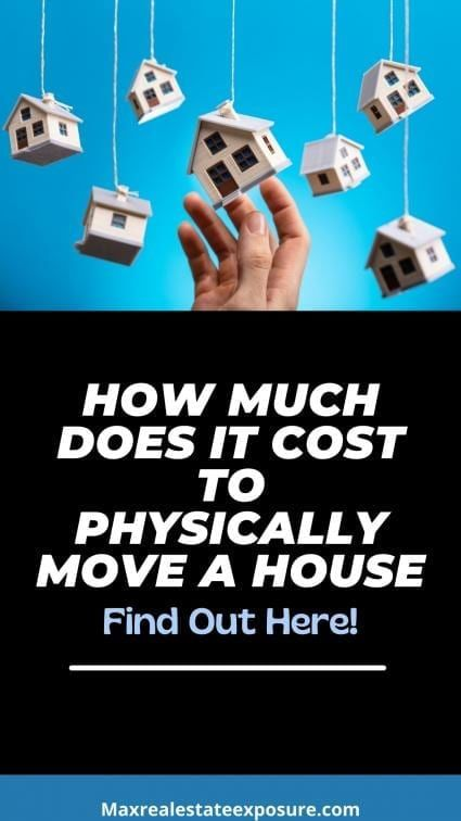 How much does it cost to move a house?