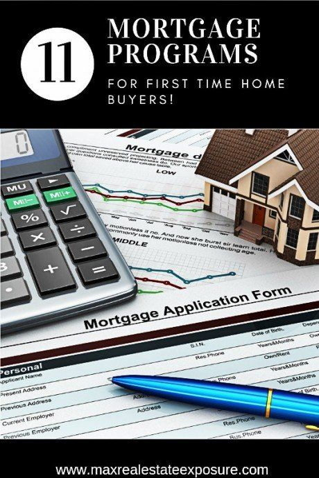 First  time home buyers programs explained