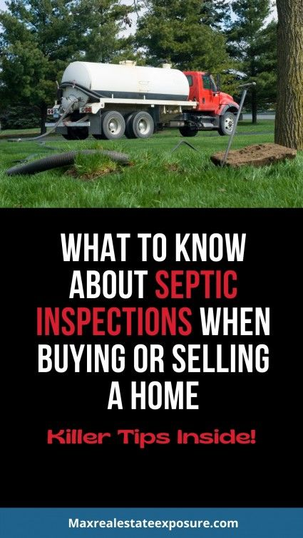 What you should know about a septic inspection.