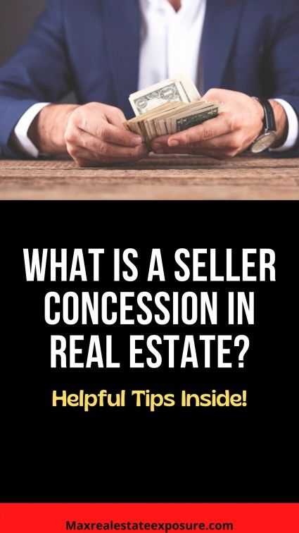 How do seller's concessions work?