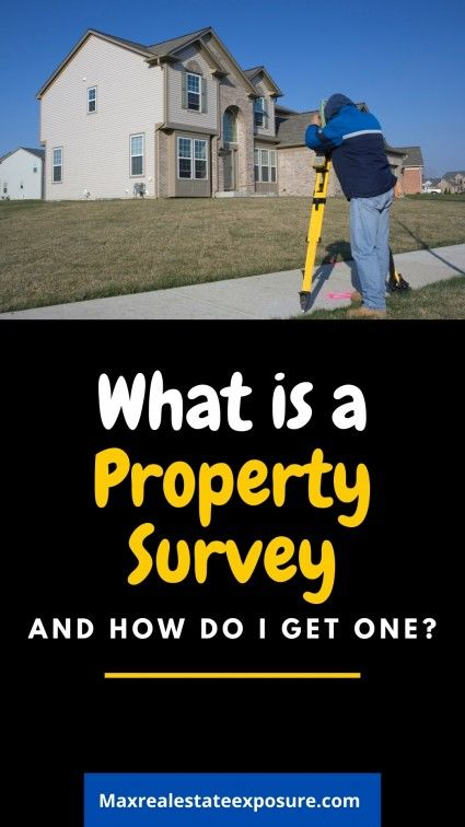See what you need to know about land surveys.