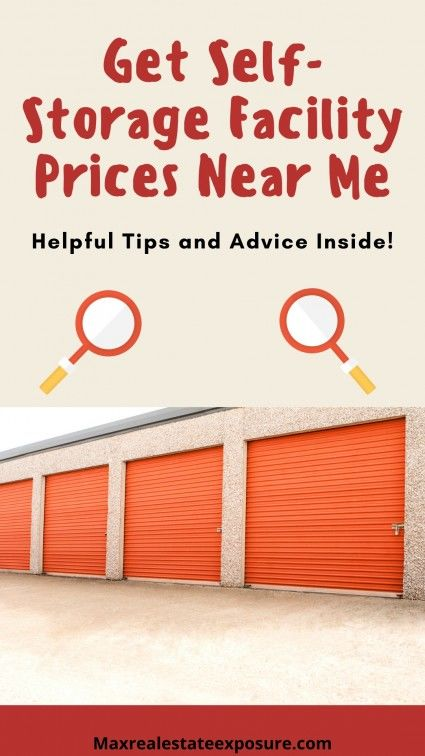 Finding the right self-storage facility.