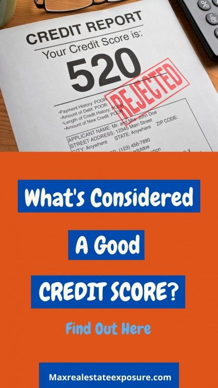 See an explanation of both  a good credit score and a max credit score.
