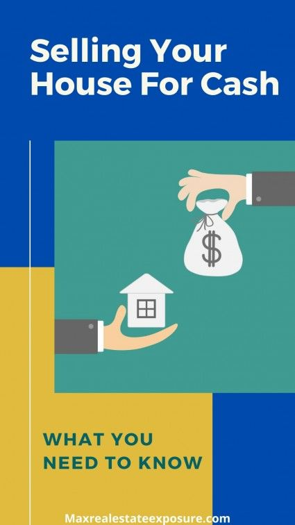 Pros and cons of selling a house for cash
