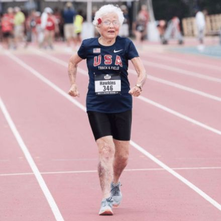 'I missed my nap for this': 101-year-old sprinter breaks 100-meter dash record