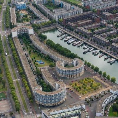 Longest green roof on a residential building in the Netherlands completed
