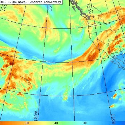 """Tracking Atmospheric """"Rivers"""" Could Help Us Predict Extreme Weather"""