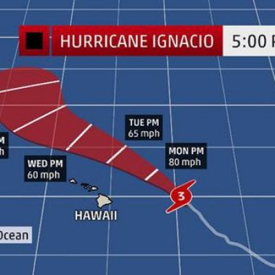 ​Hurricane Fred Forms in the Atlantic; Hurricanes Ignacio, Jimena in Pacific Should Miss Hawaii