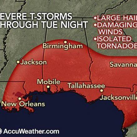 Tornadoes Rip Across Southeast
