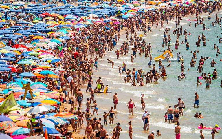 Levante Beach,Spain