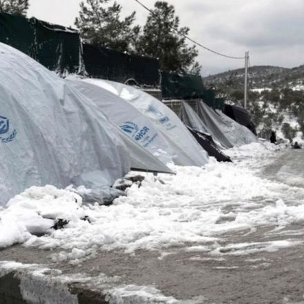 Deadly Icy Spell Grips much of Europe, including Greek islands