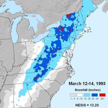 "Superstorm of 1993 ""Storm of the Century"""
