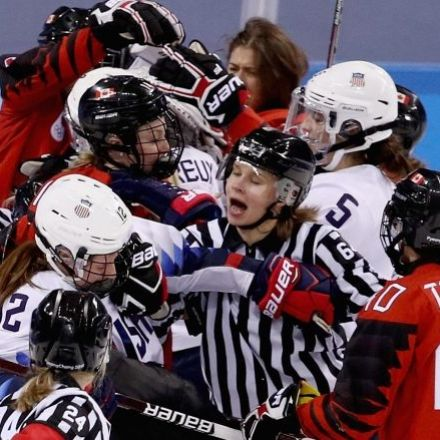 'It's like our Stanley Cup': Canada and U.S. Battle for Women's Hockey Gold
