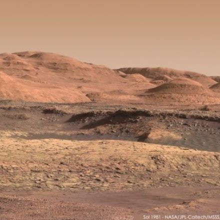 Stunning Mars images, from Curiosity