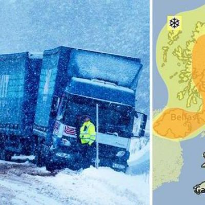 Polar Vortex Hits: Extreme Cold Will Last for Days as UK Blizzards Bring a Foot of Snow
