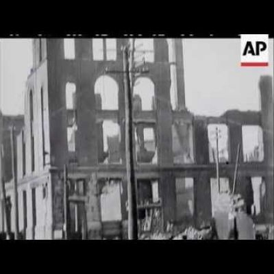 San Francisco Earthquake 1906 - no sound
