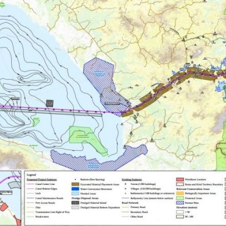 Nicaragua Begins Construction on New 173-Mile Transoceanic Canal