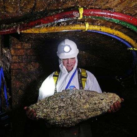 Huge Blobs of Fat and Trash Are Filling the World's Sewers