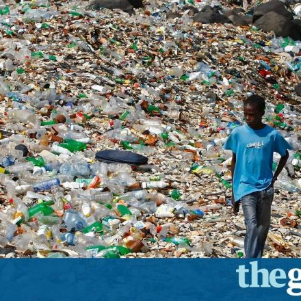 A million bottles a minute: world's plastic binge 'as dangerous as climate change'