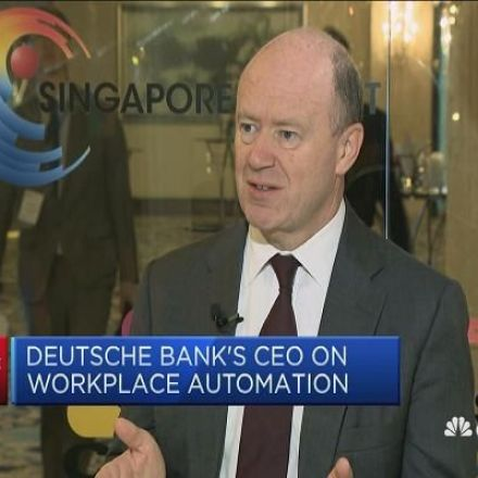 Deutsche Bank CEO gets brutally honest about what automation is going to do to banking jobs