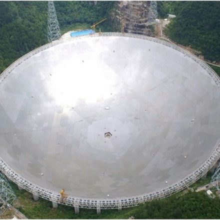 China Plans to Build the World's Largest Steerable Radio Telescope