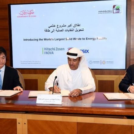Dubai to build world's largest waste-to-energy plant
