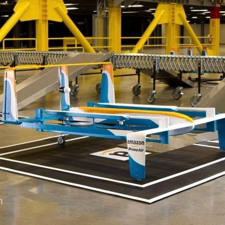 Amazon lands patent for delivery drones that can be waved down by customers