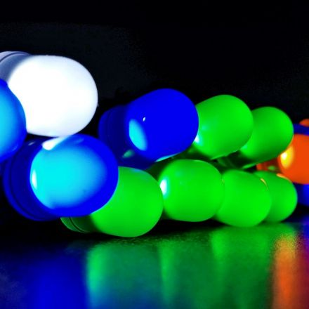 Energy-efficient LEDs are just a few atoms thick