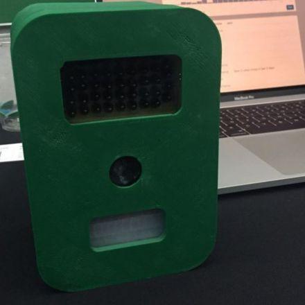 Sensor tracks who is driving in your neighbourhood