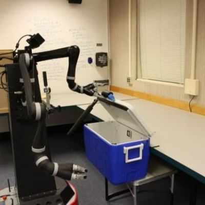 Teaching robots to understand their world through basic motor skills