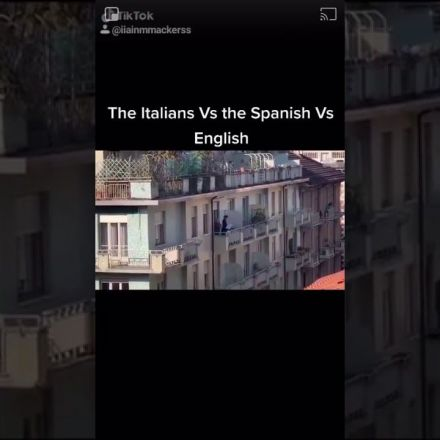 Italians vs Spanish vs english