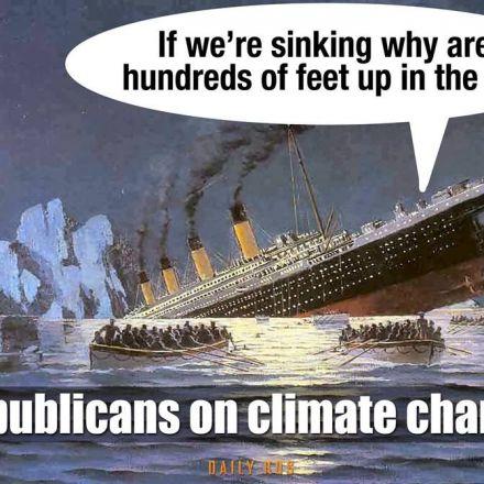 Republicans on climate change