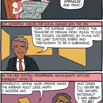 Saturday Morning Breakfast Cereal - Dream Inequality