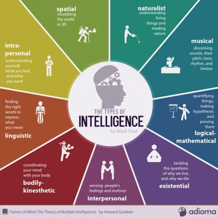 Theory of multiple intelligences - Howard Gardner