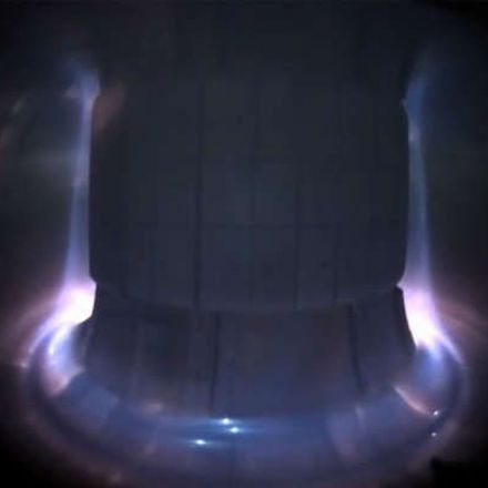 Stunning Footage Captured From Inside A Fusion Reactor