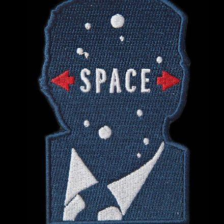Nailed it: Milton Glaser's 'Space Force' logo