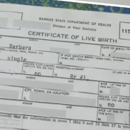 Kansas woman told birth certificate wasn't enough to prove citizenship for passport
