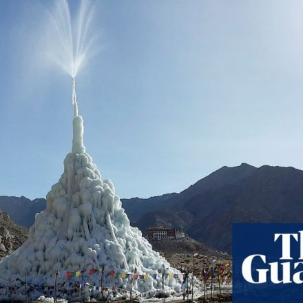 The ice stupas of Ladakh: solving water crisis in the high desert of Himalaya