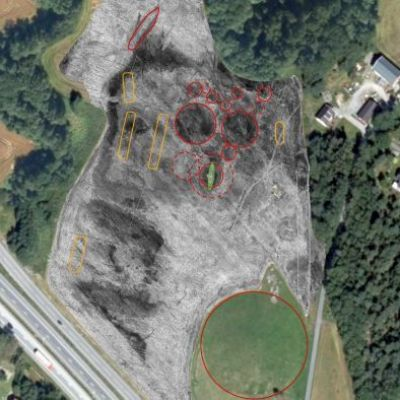 Viking ship found buried next to busy Norwegian freeway