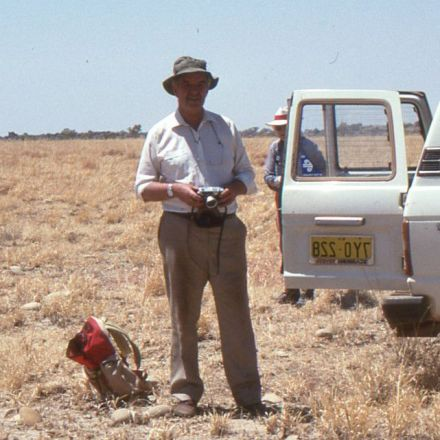 Ken Campbell: the palaeontologist whose name lives on in many fossils