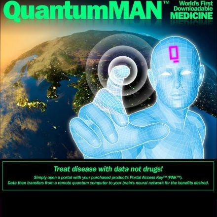 QuantumMAN: World's First Downloadable Medicine